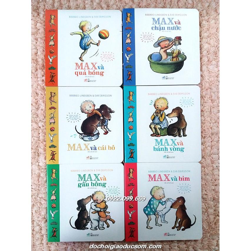 Cậu bé Max - Bộ 6 cuốn