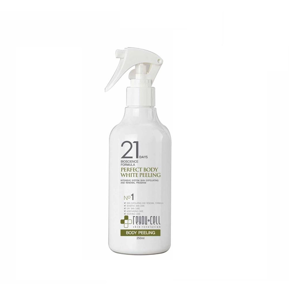Tách lẻ Set Tắm Trắng 21 days Hàn quốc Perfect Body White Peeling - Chai Perfect Body White Peeling