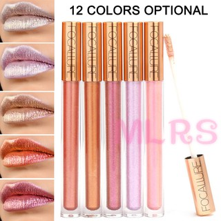 MS Women Liquid Lipstick Glitter Waterproof Long Lasting Makeup Shiny Lip Gloss Cosmetics &VN