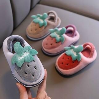 Giày bông hoa quả cho bé (loại đẹp) (Ảnh thật tự chụp) thumbnail