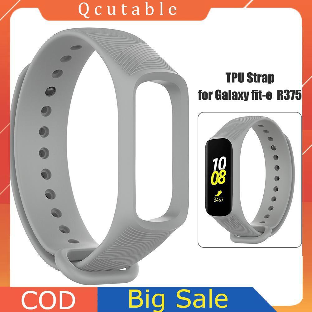 Dây Đồng Hồ Tpu Mềm Cho Samsung Galaxy Fit-E R375