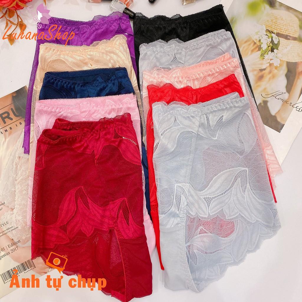 Quần lót ren đùi bigsize hàng Quảng Châu cao cấp vừa là quần lót vừa là quần trong váy hàng siêu hot