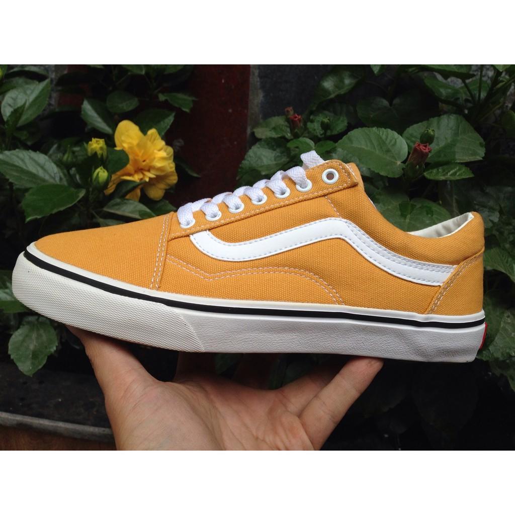 [KÈM HỘP] Giày Vans Old Skool màu Vàng