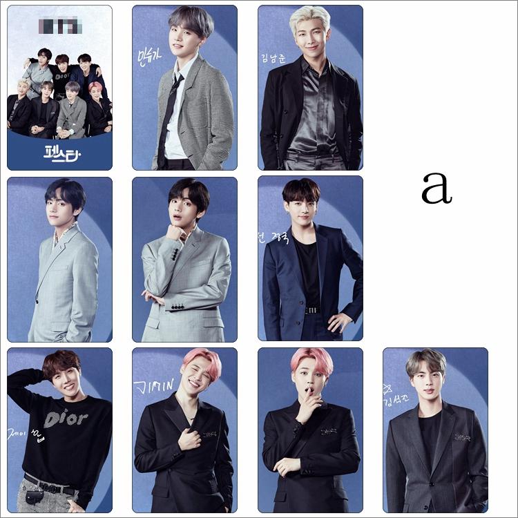 Thẻ Hình Nhóm Nhạc Kpop Bts