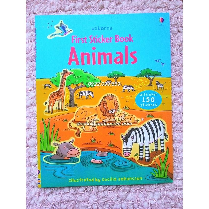Usborne sticker book ANIMAL