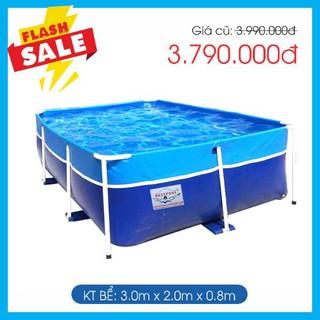 Bể bơi mini Bestpool 2m x 3m x 0.8m