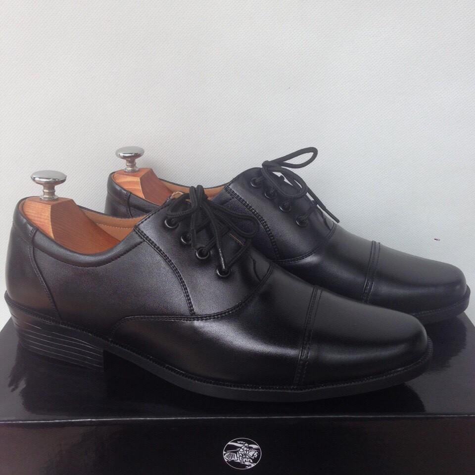 Giày Tây Cột Dây Cao Cấp Lịch Lãm OHS414 - Có Video Quay Thật