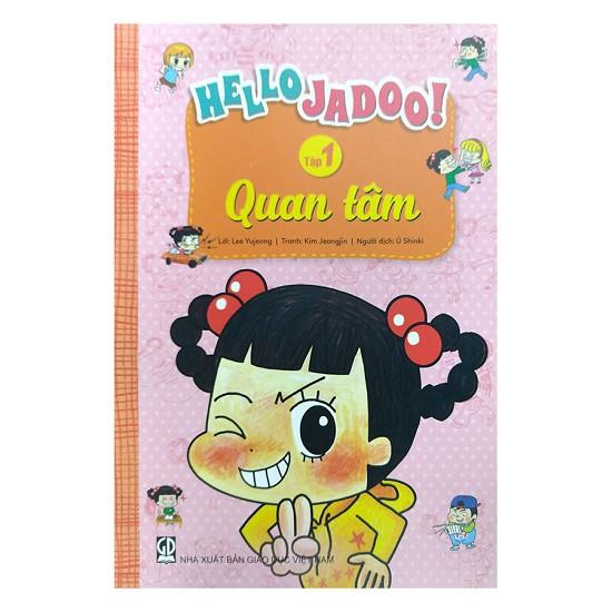 Sách - Hello Jadoo (Tập 1) - Quan Tâm