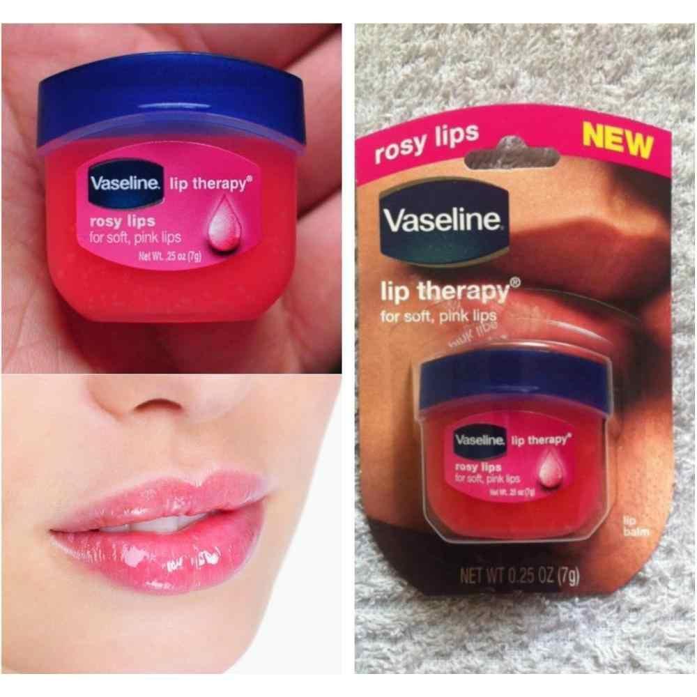 Sáp Dưỡng Môi Hồng Xinh Xắn Vaseline Lip Therapy Dạng Hũ 7g - Hàng USA