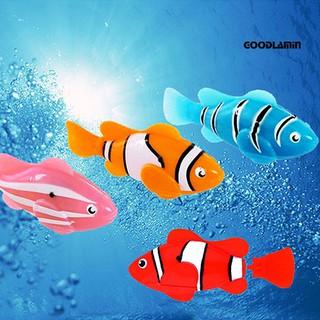 Electronic Pets Toy Fish Tank Robot Swimming Clownfish Children Bath