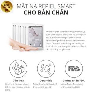 (Chăm Sóc Đôi Chân) Mặt Nạ Cho Chân Tiện Lợi Repiel Smart Food Ultra Rich thumbnail