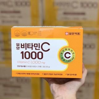 HOTHộp Đựng 100 Viên Vitamin C Hàn 1000mg