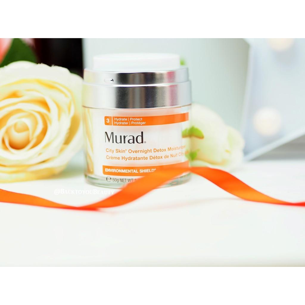Kem Detox Murad City Skin Overnight Detox Moisturizer mini 7ml - 3357331 , 1323548095 , 322_1323548095 , 410000 , Kem-Detox-Murad-City-Skin-Overnight-Detox-Moisturizer-mini-7ml-322_1323548095 , shopee.vn , Kem Detox Murad City Skin Overnight Detox Moisturizer mini 7ml