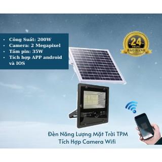 Đèn Pha NLMT TPM 200W CCTV Camera Wifi