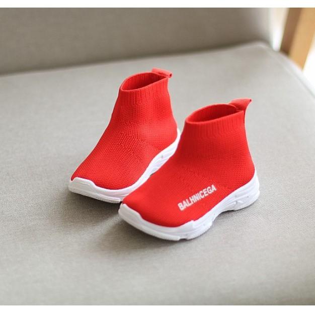[ SALE 50% ] Giày chun cao cổ đế mềm cho bé gái G15