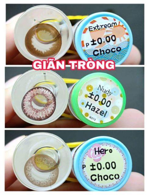 Contact lens /Kính áp tròng - CHOCO tặng kèm khây dụng cụ