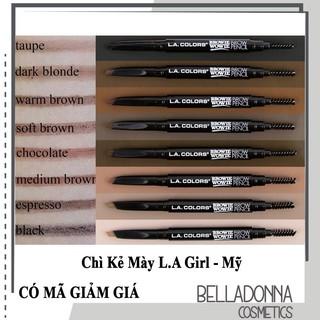 Chì Kẻ Mày L.A Girl Colors Browie Wowie Brow Pencil thumbnail