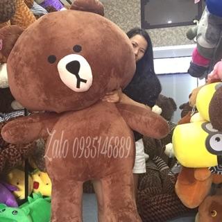 Gấu bông Brown khổ 1m6 cao 1m4 hàng nhập