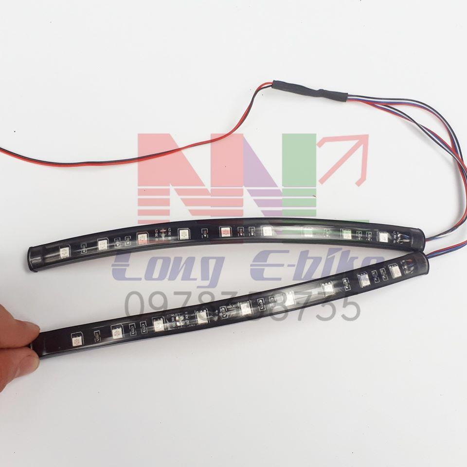 đèn nháy RGB dẻo trang trí xe , phòng game