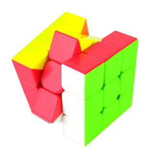 Colorful Speed Magic Cube Puzzle Finger Toy 5.7*5.7*5.7cm Random Color