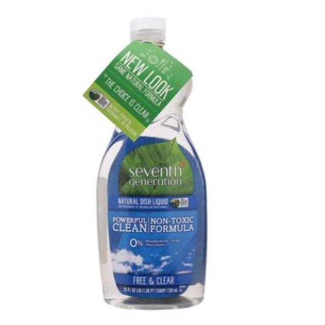 Nước rửa chén Seventh Generation 739ml c