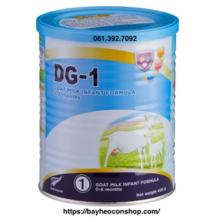 [Date 2022] Sữa dê công thức DG-1 400g