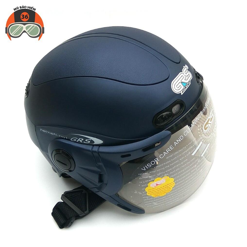 Mũ bảo hiểm nửa đầu GRS A102K nhiều màu