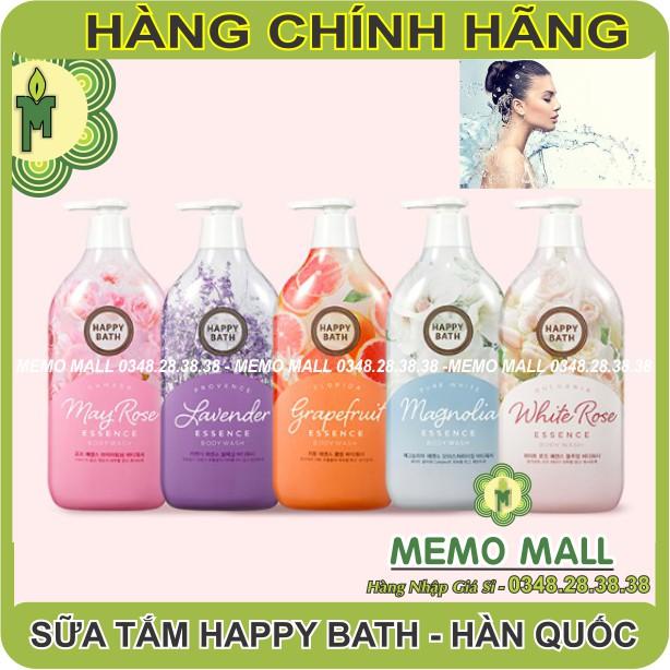 (DATE MỚI) Sữa tắm Happy Bath HÀN QUỐC CAO CẤP - DƯỠNG ẨM - THƠM CỰC