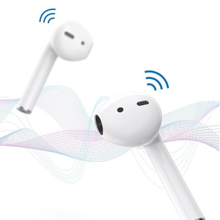 [Mã ELFLASH3 hoàn 10K xu đơn 20K] Tai Nghe Bluetooth i12 5.0 Cảm Ứng Cực Nhạy Tăng Chỉnh Âm Lượng 1 Đổi 1 Trong 30 Ngày