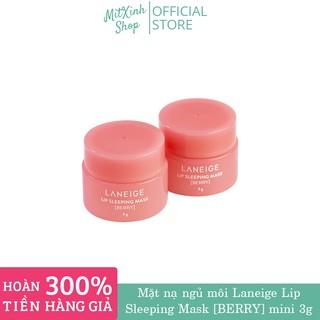 ( HOT SALES ) Mặt nạ ngủ cho môi Laneige Lip Sleeping Mask Berry 3g - Mini thumbnail