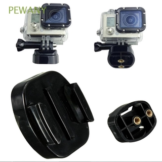 PEWANY Plastic Tripod Bracket 4K Camera for GoPro Hero 8 5 3 4 Quick Release Plate Sports Camcorder Sports Camera with 1/4 inch Nuts Durable Black Camcorder Accessories Base Mount/Multicolor