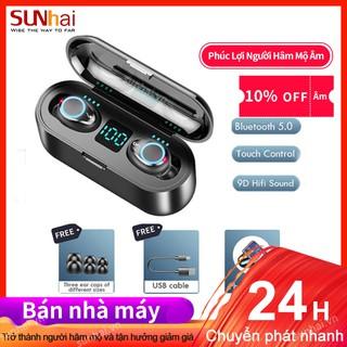 Tai Nghe Bluetooth Amoi F9 Màn Hình LED Cảm Ứng Chống Thấm Nước Chất Lượng Cao