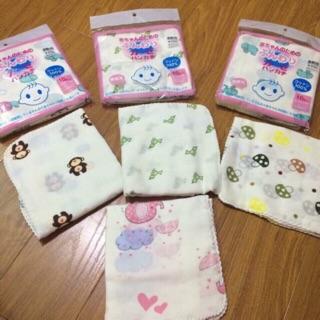 Sét 10 khăn xô sữa 2 lớp xuất Nhật loại hoa văn thumbnail