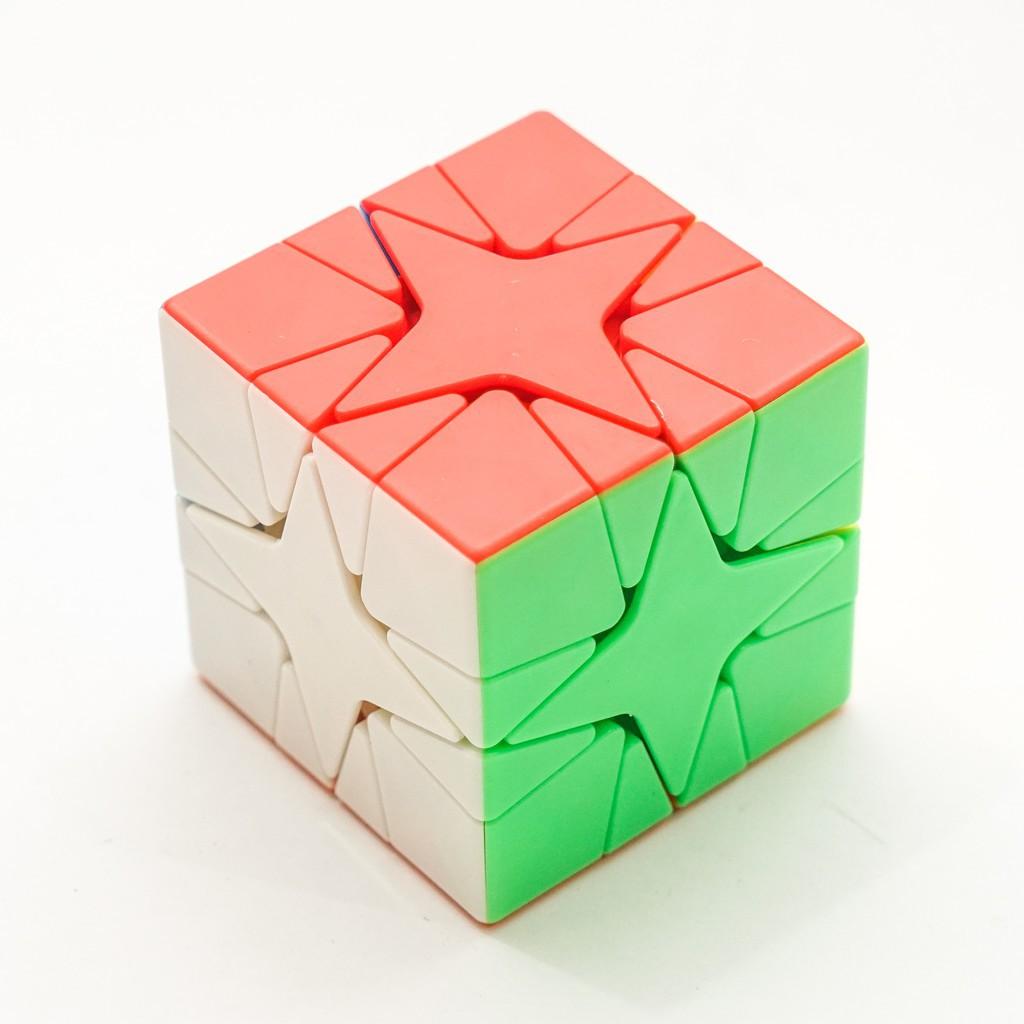 Khối Rubik Biến Thể Polaris – Rubic Ma Thuật Biến Dạng – Ru Bíc MoYu Meilong – Rubick Kiểu Dáng Đẹp, Nâng Cao