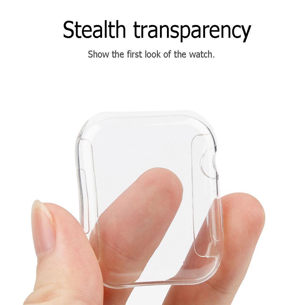 Ốp Bảo Vệ Màn Hình Mỏng 40 / 44mm Cho Đồng Hồ Apple Watch Iwatch