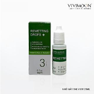 Nước nhỏ mắt chuyên dụng cho lens Hàn Quốc VIVIMON THE VIEW 20ml