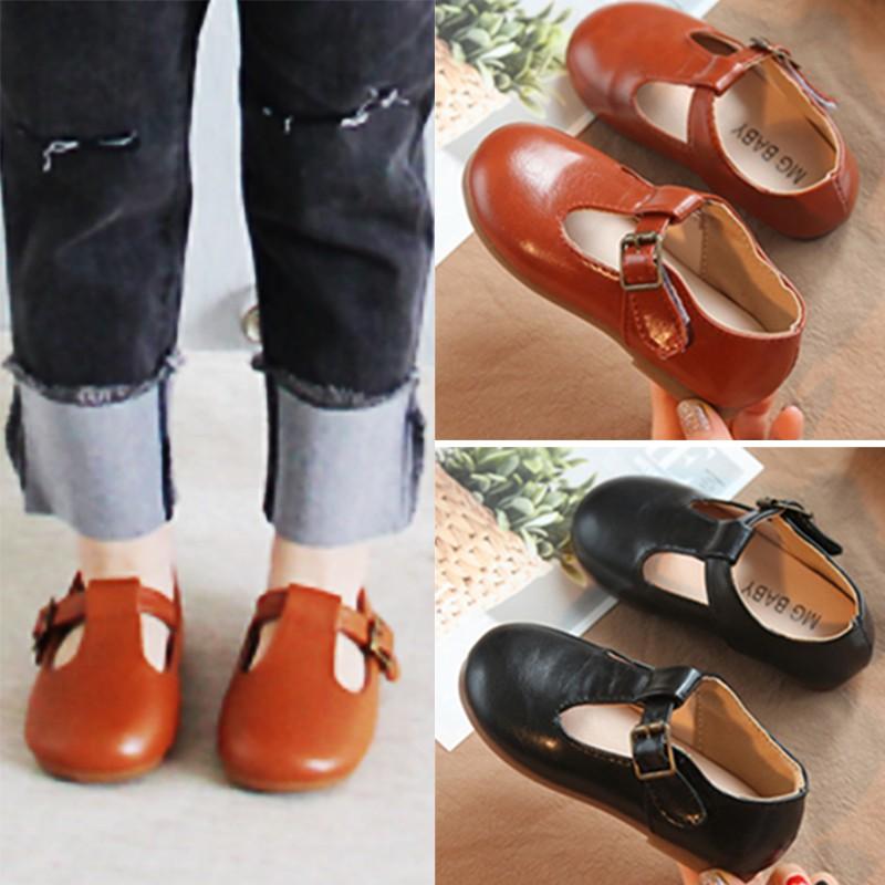 Giày búp bê giày da bé gái Hàn Quốc hàng xuất khẩu siêu đẹp