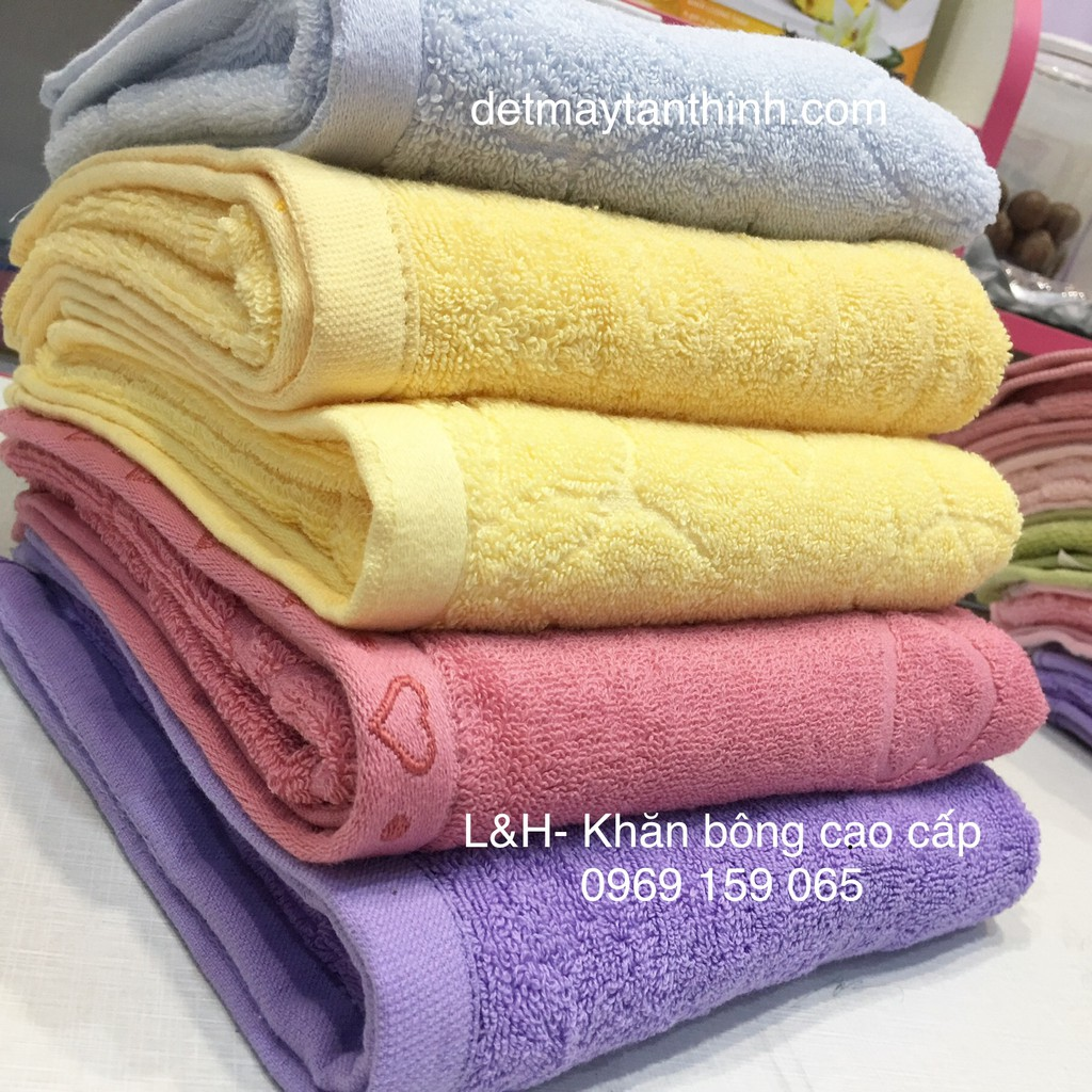 Khăn tắm, khăn lau đầu sợi cotton, xuất dư siêu thấm 40 * 80 cm