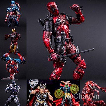 Set 4 Mô Hình Đồ Chơi Siêu Anh Hùng Deadpool