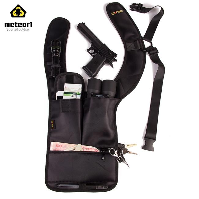 Multifunctional Portable Breathable Anti-Theft Hidden Underarm Tactical Bag Personal Wallet Pocket