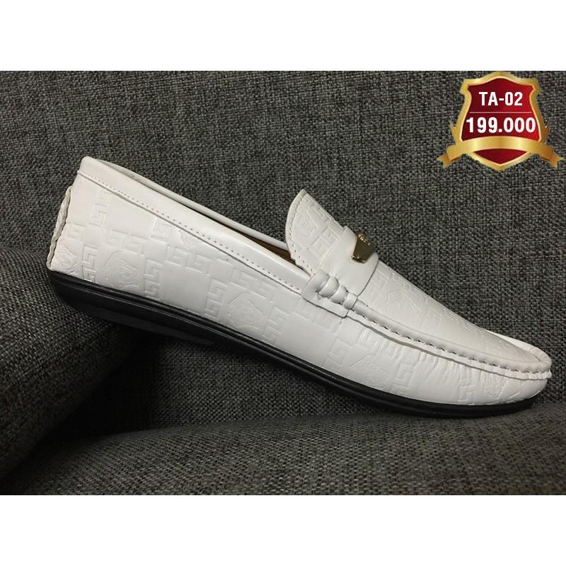 Giày lười nam da tổng hợp cao cấp TA 02