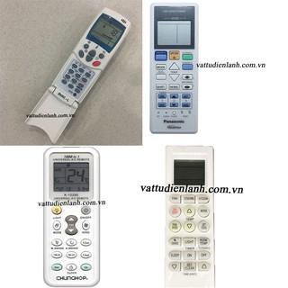 Điều khiển điều hoà – remote máy lạnh (chọn hãng, kiểu dáng như hình) TD