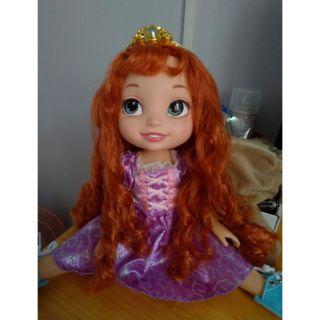 Búp bê Disney công chúa tóc xù