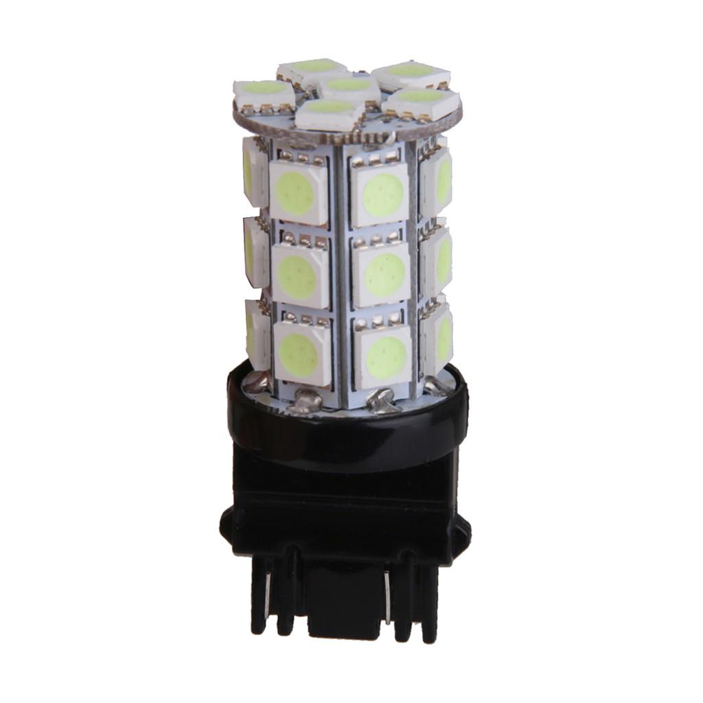 T25 27 SMD 5050 LED 3157 Car Tail Brake Stop Parking Light Bulb Ice Blue 12V