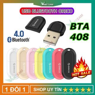 [Mã ELORDER5 giảm 10K đơn 20K] USB Bluetooth 4.0 ORICO BTA-408 (màu ngẫu nhiên) - Hàng phân phối chính hãng -DC1340