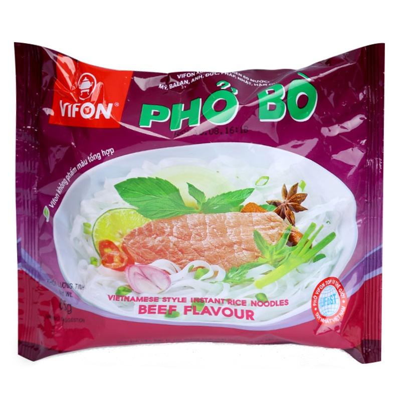 [HOẢ TỐC] Phở bò, phở gà ăn liền Vifon gói 65g - Đại lý 273