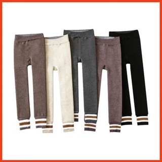 Quần legging lót lông ⚡SIÊU❤️DẦY⚡quần tất lót lông cho bé lớn từ 6 đến 10 tuổi mặc được dưới 10 độ bao ấm áp