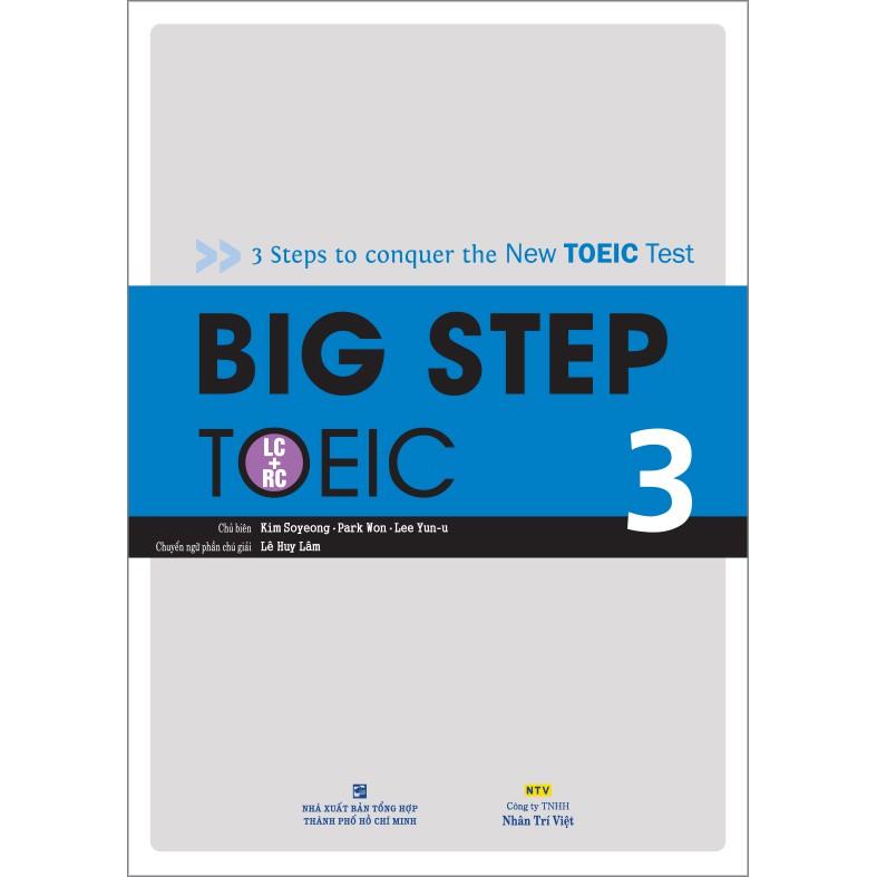 Big Step TOEIC 3 Giá: 270.000VNĐ