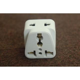 MADE IN THAILAND- Ổ cắm điện ( phích cắm ) chuyển đổi 3 chấu thành 2 chấu, ổ cắm chia đôi model PS18A2