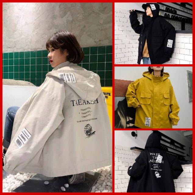 [Freeship 1 áo] Áo Khoác Kaki 2 Lớp Túi Hộp - Áo khoác dạ